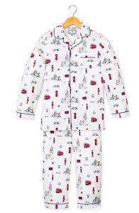 Petite Plume London Calling Pajama Set