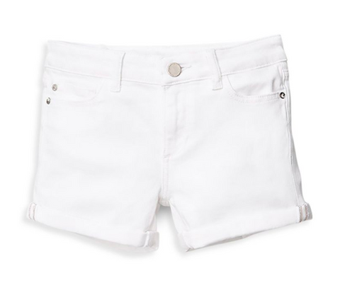 dl1961 white piper cuffed short