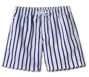 stella cove boys blue rick rack swim trunks