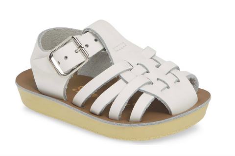 hoy shoes salt water sandal sailor white sun san