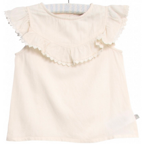 Wheat clothing brand benedikte blouse in ivory