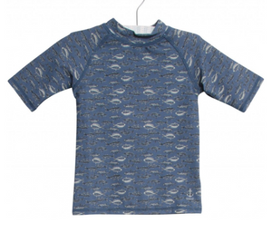 S/S Jackie Swim Shirt - Bering Sea
