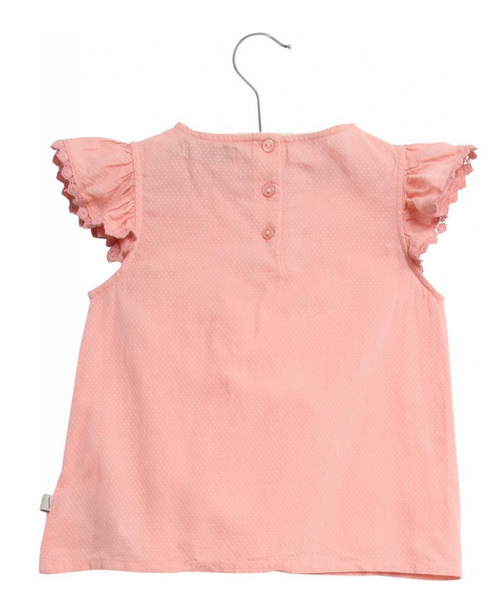 Benedikte Blouse- Rose Tan
