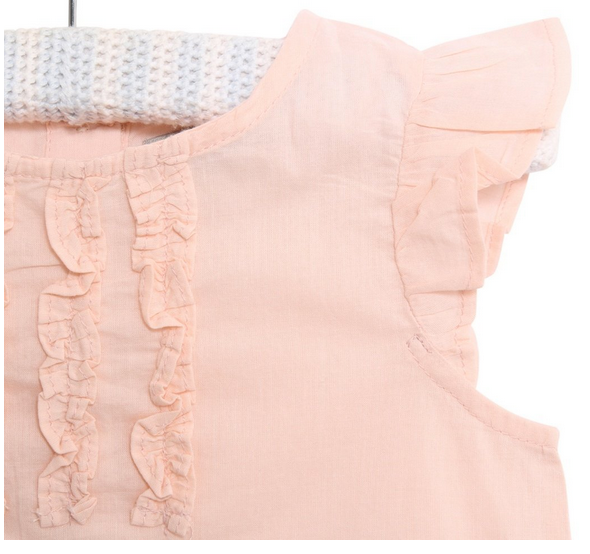 Freya Top- Powder Pink