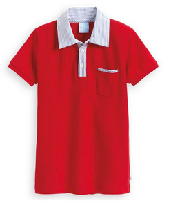 Short Sleeve Campbell Polo