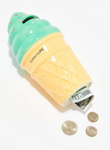 Ice Cream Money Bank