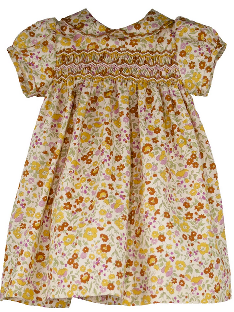 Isabel garreton fall floral dress