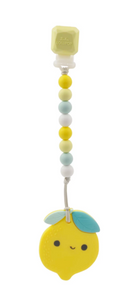 lou lou lollipop lemon teether clip silicone