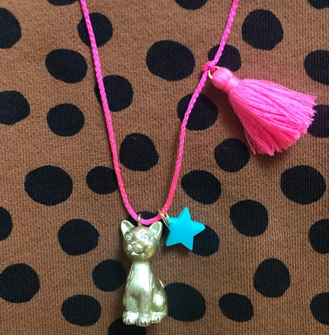 Sawyer The Cat Necklace