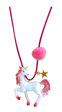 rebel the pink unicorn necklace gunner and lux john and riley glitter guide