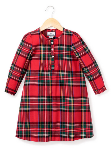 petite plume imperial tartan girls nightgown pajama
