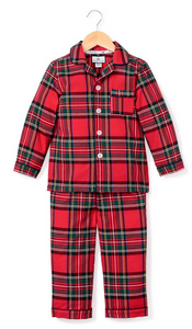 Petite Plume Imperial Tartan Holiday Pajama Set
