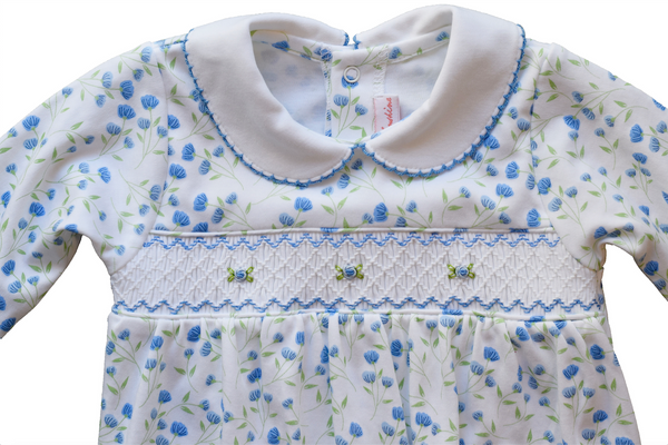 Arabella Smocked Footie