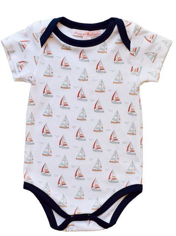 Pineapple Sunshine Sailboat Onesie