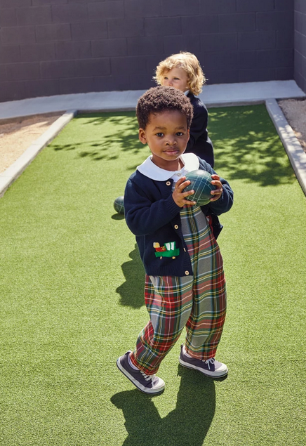 Field Overall in Kingston Plaid