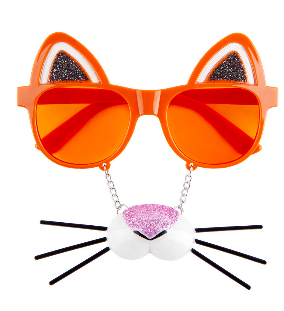 sunnylife australia dress up glasses in tiger