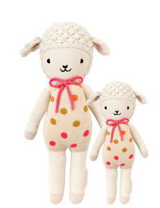 Cuddle+Kind Lucy the lamb stuffed animal