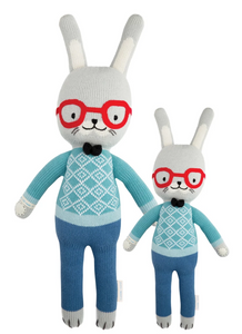 Cuddle+Kind Benedict the Bunny knit doll