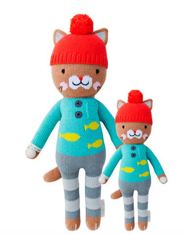 Cuddle+Kind Maximus the Cat Knit Doll