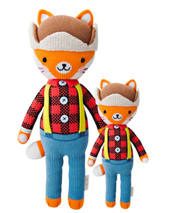 Cuddle + Kind Wyatt the Fox Knit doll