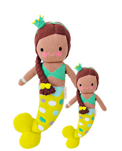 Cuddle+Kind Pearl the Mermaid knit doll