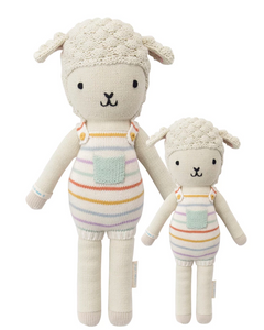 Cuddle+Kind Avery the Lamb Knit doll