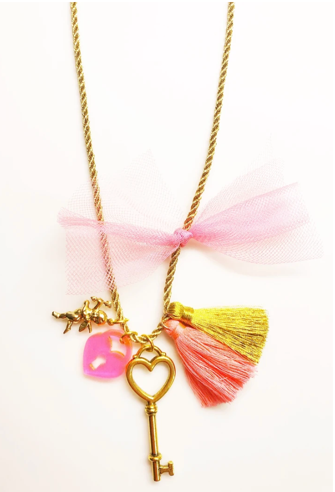 My Heart Valentines Necklace