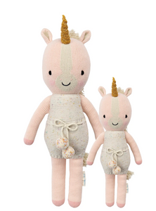 Cuddle and Kind Ella Unicorn knit doll