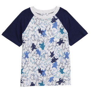 Splendid littles dancing bears tee