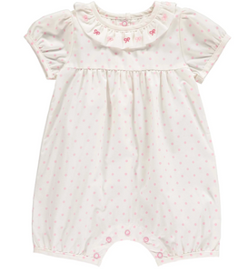 Rachel Riley Boy Embroidered Babysuit