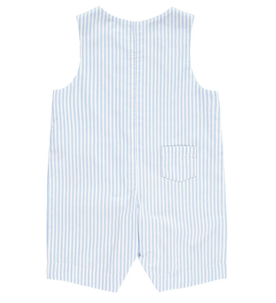 Rachel Riley Dungarees with Light Blue Stripes