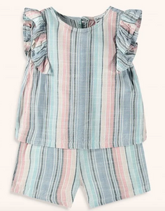 splendid girls cabana stripe romper