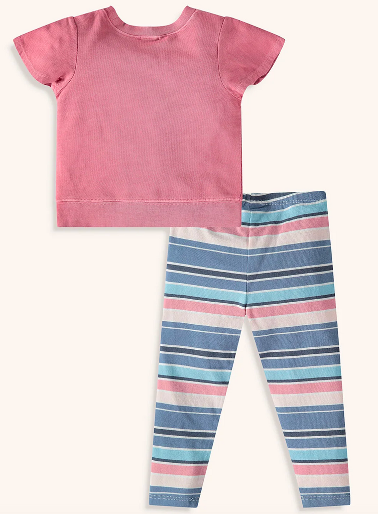 Stripe Legging Set