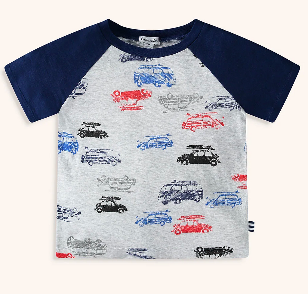 splendid boys car tee