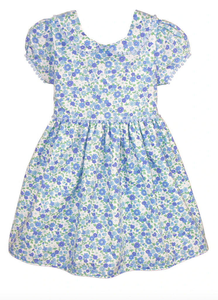 Isabel Garreton Blue Floral Dress