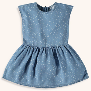 splendid littles chambray dot girls dress