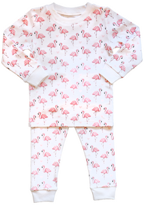 Pink Flamingo Pajama Set