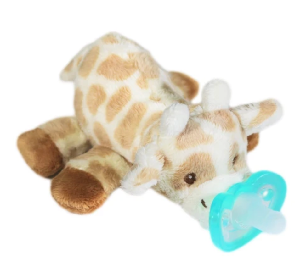 RaZ Baby Zoey Plush Pacifier Holder