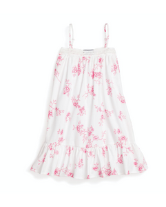 English Rose Floral Lily Nightgown