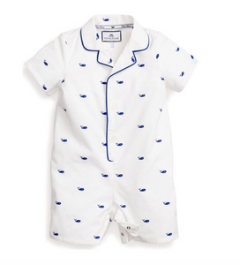 Whales Summer Romper
