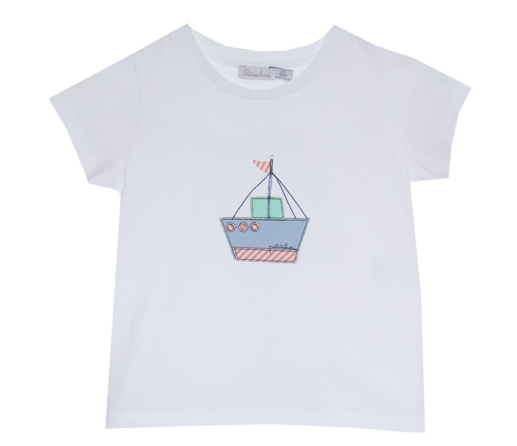 Patachou Sailboat tee