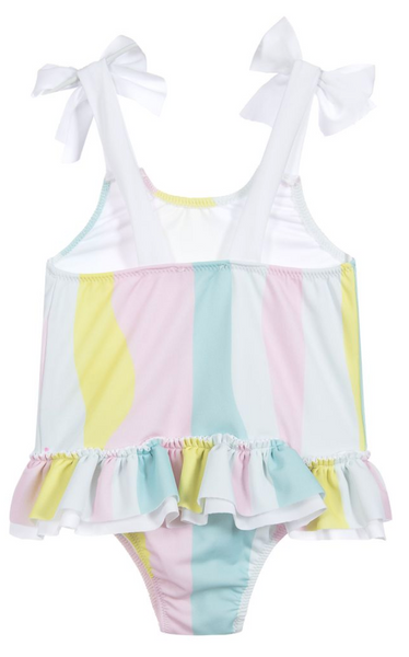Pastel Stripes Swimsuit