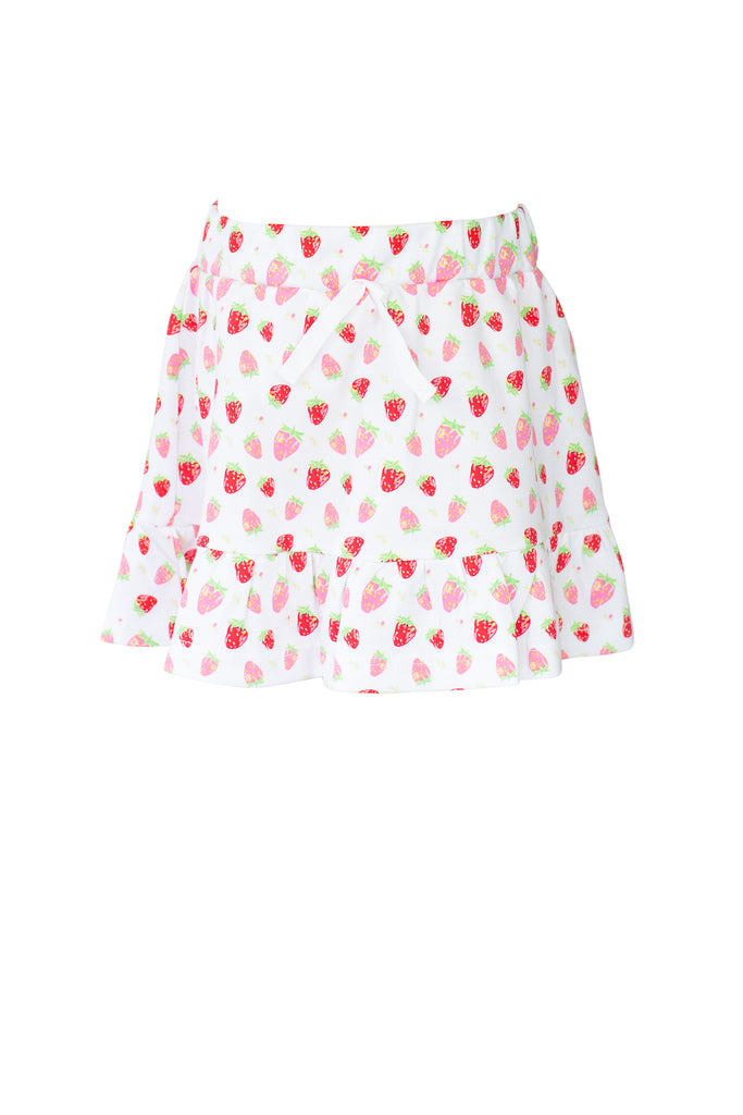 The Proper Peony Strawberry Skirt and Top Set