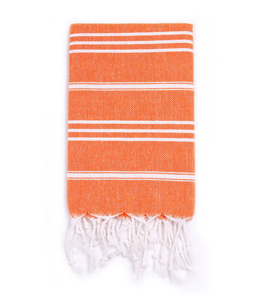 Orange Kid's Turkish Beach/Bath Towel