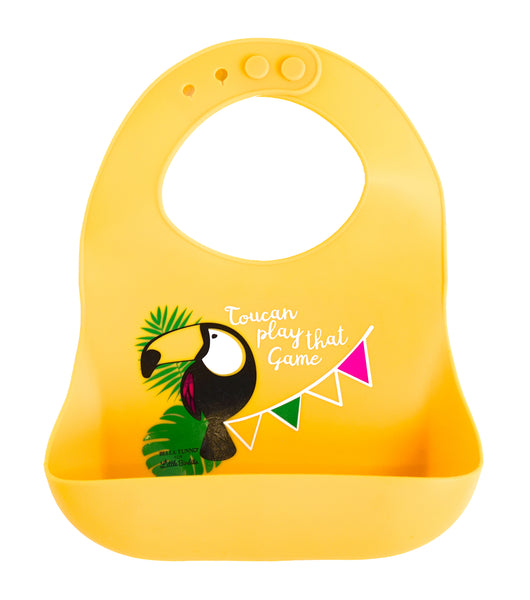 Exclusive! Toucan Play That Game Catch Bib