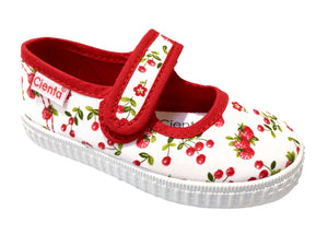 cherry print cienta shoe mary jane