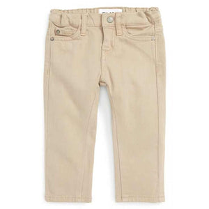 Dl1961 boys 5 pocket twill in toby and brady birch color - little birdies boutique