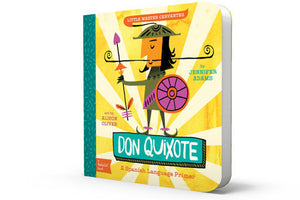 don quixote childrens book gibbs smith