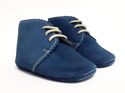 Suede Crib Shoe
