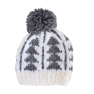 Blake Gray Triangle Knit Hat